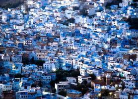 شهر آبی در مراکش