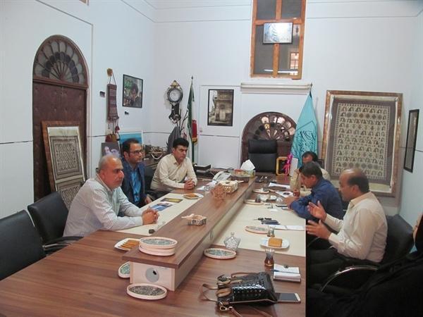نشست مدیرکل میراث فرهنگی بوشهر و شهردار دلوار برگزار گردید