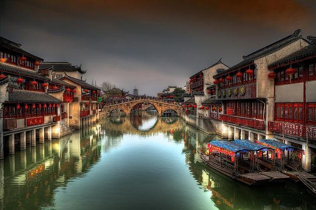 در چین هم شهری هممچون ونیز وجود دارد!