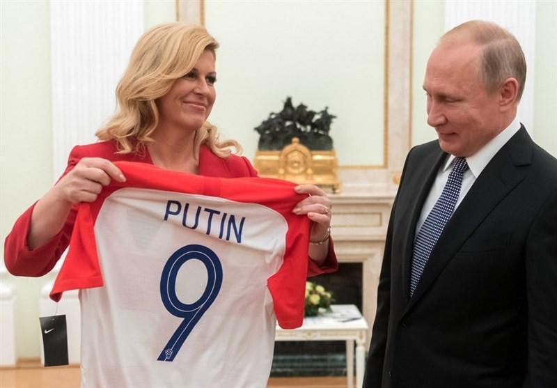فوتبال دنیا، ولادیمیر پوتین در فینال جام دنیای هوادار کدام تیم بود؟