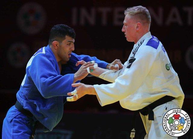 جودو گرنداسلم ابوظبی، پیروزی ملایی و حذف بریمانلو در مبارزه نخست