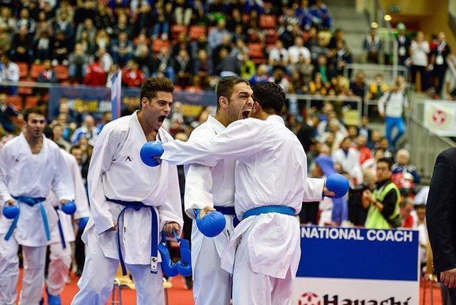 نایب قهرمانی ایران در کاراته وان سریA چین