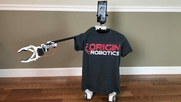 ابداع رباتی برای انجام کارها از راه دور