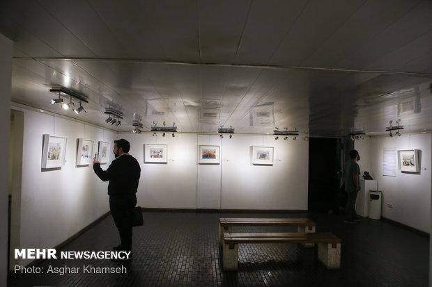 نمایشگاه نقاشیچهل نمایشگاه، چهل شهر در گرگان افتتاح شد