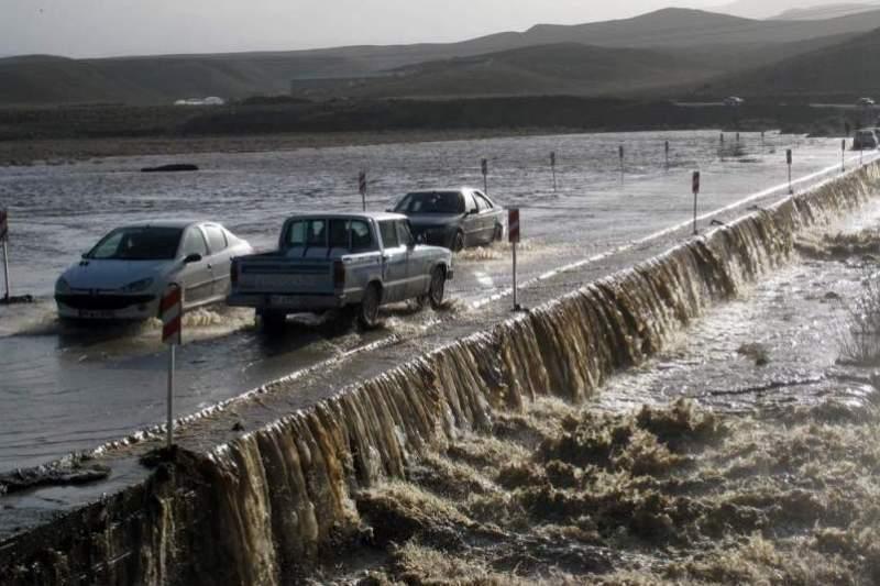 رودخانه های 14 شهرستان خراسان رضوی طغیان کرد