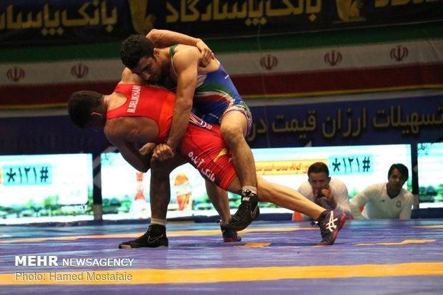 ترکیب تیم منتخب کشتی فرنگی ایران معین شد