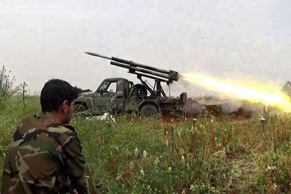 تروریستها در شمال حماه به محاصره کامل ارتش سوریه درآمده اند