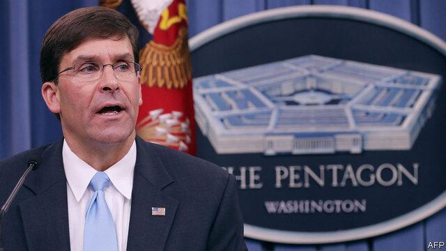 مارک اسپر: هم پیمانان آمریکا خودشان بودجه تصرف شده پروژه های نظامی را تامین نمایند!