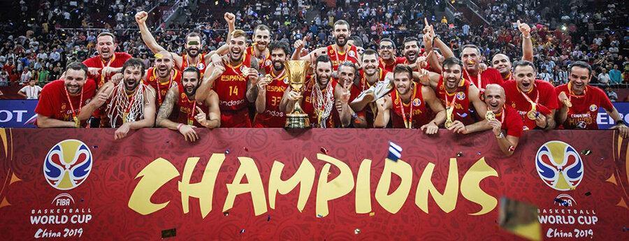 اسپانیا قهرمان جام جهانی بسکتبال شد
