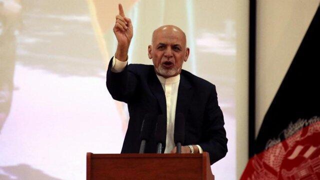اشرف غنی: صلح با طالبان بدون آتش بس غیرممکن است