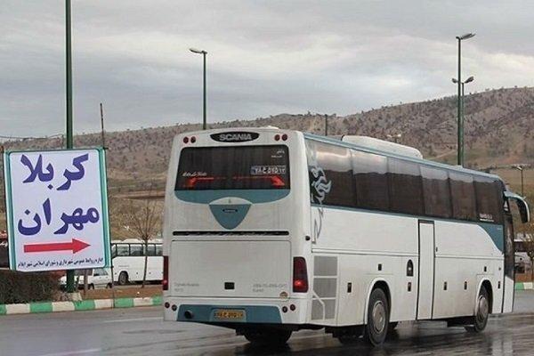 استفاده از 850 اتوبوس برای جابه جایی زائران اربعین در فارس