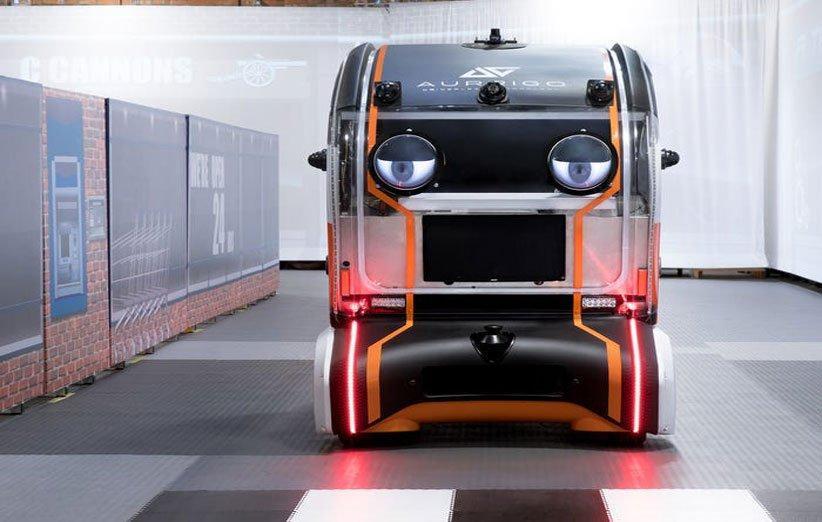 چشم مجازی روی خودروهای بدون راننده جگوار لند روور