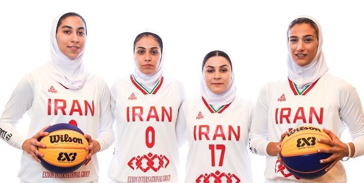 جام جهانی بسکتبال 3 نفره، بانوان ایران مقابل اوگاندا پیروز شدند