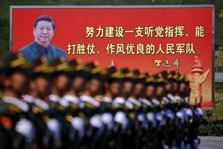 رئیس جمهور چین: به هیچکس اجازه نمی دهیم درباره قلمرو ما آشوب به پا کند
