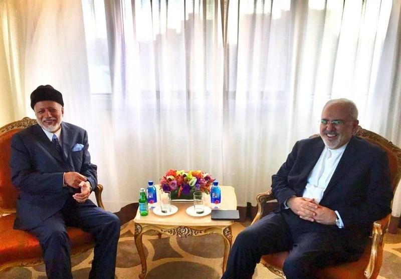 تاکید وزیر خارجه هند بر ادامه خرید نفت ایران، دیدار ظریف با وزرای خارجه هند و عمان