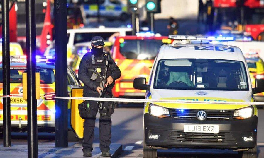 چاقو زنی به مردم در پل لندن ، یک نفر بازداشت شد