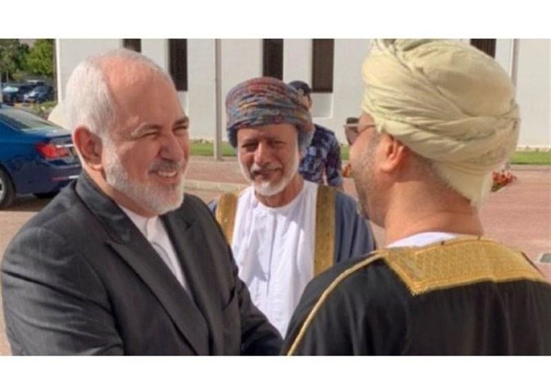 توئیت ظریف به زبان عربی پس از سرانجام سفر به عمان