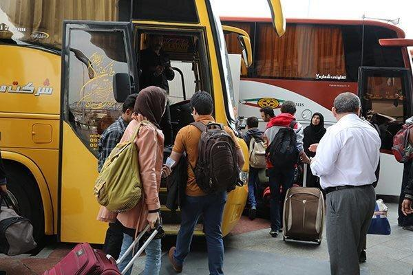 مقابله با شیوع ویروس کرونا در خوزستان ، ضدعفونی پایانه ها و اتوبوس های بین شهری