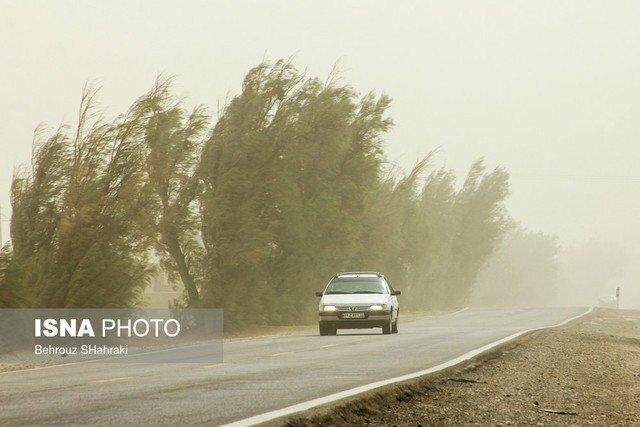 اطلاعیه سازمان هواشناسی درباره وزش باد شدید در بعضی مناطق کشور