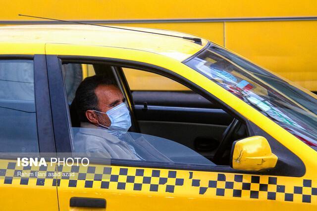 کاهش 50 درصدی تردد خودروها در تهران با شیوع کرونا