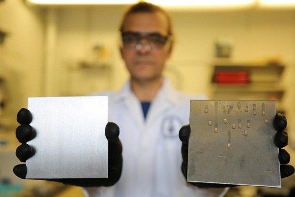 استفاده از روغن پخت و پز برای ضدباکتری کردن فولاد