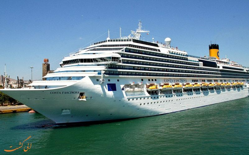 همه چیز درباره کشتی کروز استانبول (Cruise ships in Istanbul)