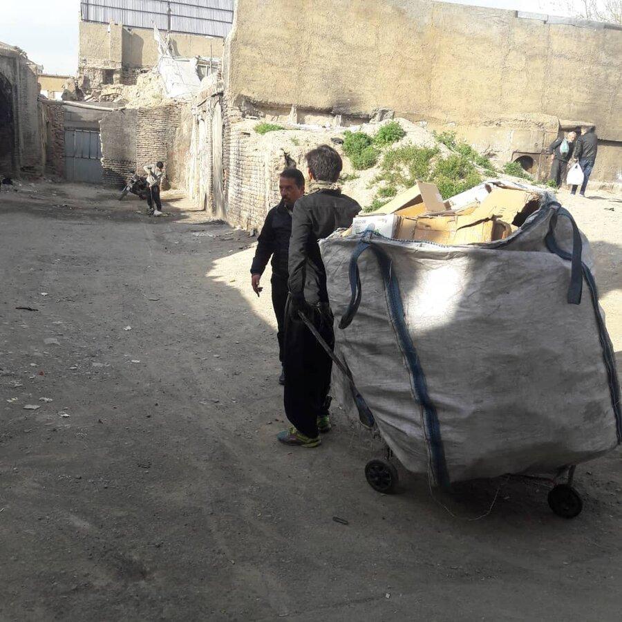 تعطیلی40 واحد غیرمجاز تفکیک زباله در روستاهای خاوران