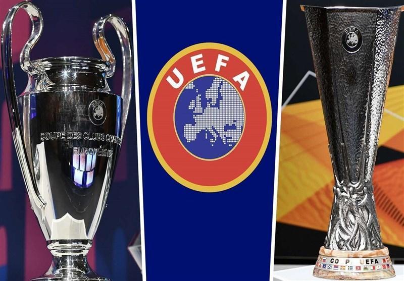 یوفا سازوکار اعطای سهمیه لیگ قهرمانان و لیگ اروپا در لیگ های ناتمام را معین کرد