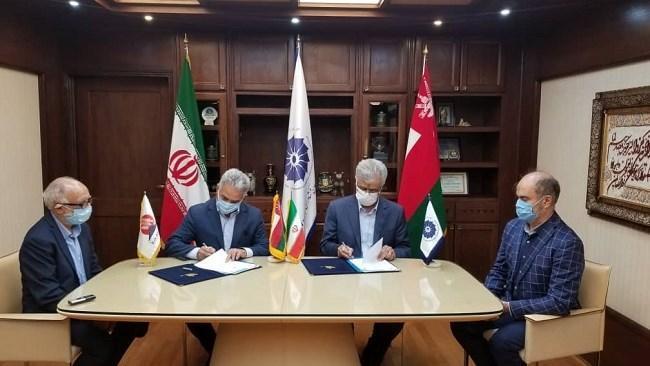 اتاق مشترک بازرگانی ایران و عمان و خانه معدن تفاهم نامه همکاری امضا کردند