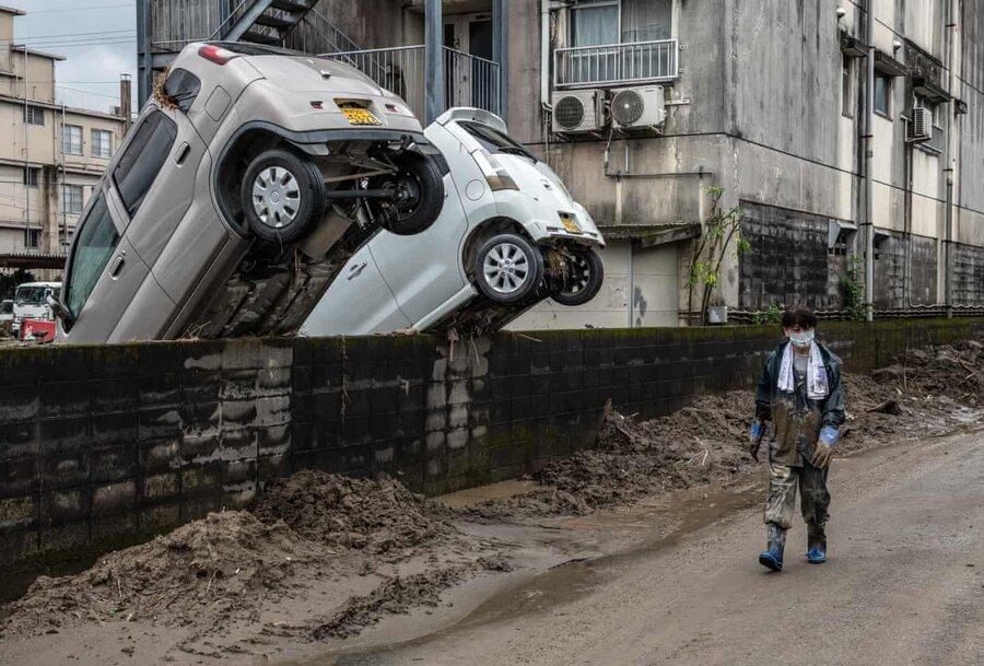 عکس روز ، پس از سیلاب