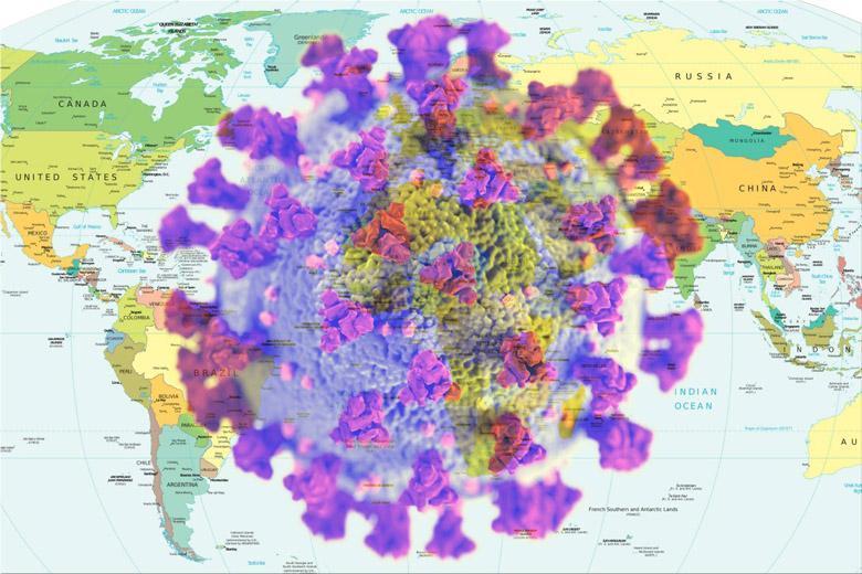 آخرین آمار جهانی کرونا ، 0.1 درصد از مردم جهان آلوده به ویروس هستند