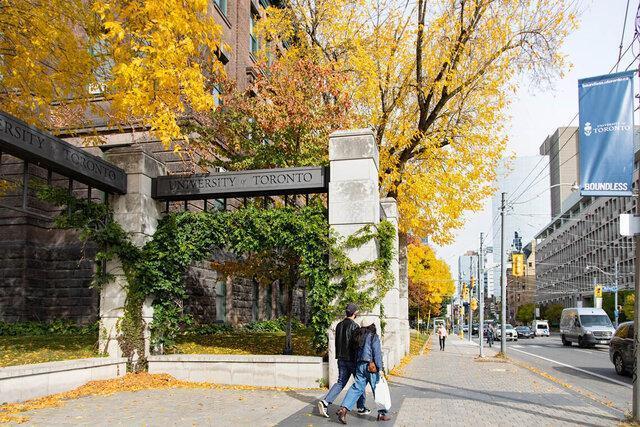 دانشگاه تورنتو در 10 موضوع، صندلی برتر کانادا شد