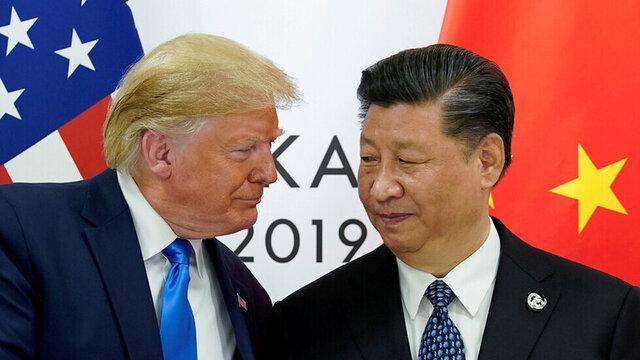 رئیس جمهوری چین برای ترامپ و ملانیا آرزوی سلامتی کرد