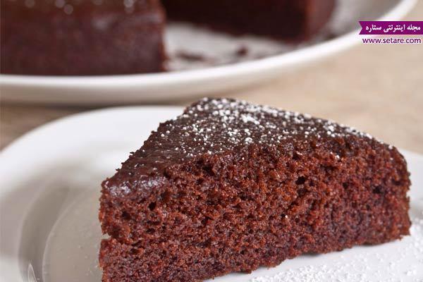 طرز تهیه کیک کاکائویی ساده