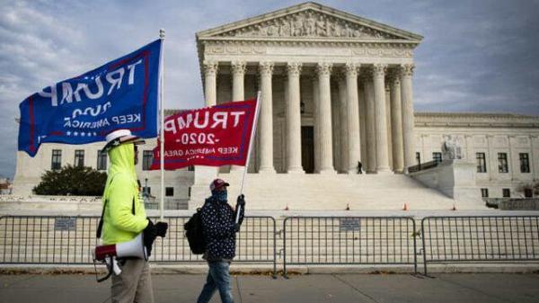 کمپین ترامپ باز هم از دیوان عالی آمریکا ابطال نتیجه انتخابات را می خواهد!