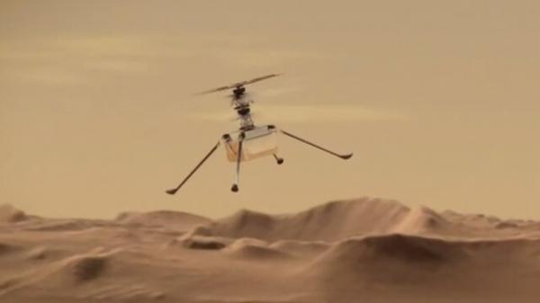 قطعه ای از هواپیمای برادران رایت در مریخ