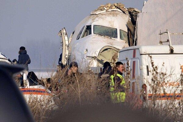 سقوط هواپیمایی نظامی در قزاقستان، 6 نفر کشته و زخمی شدند