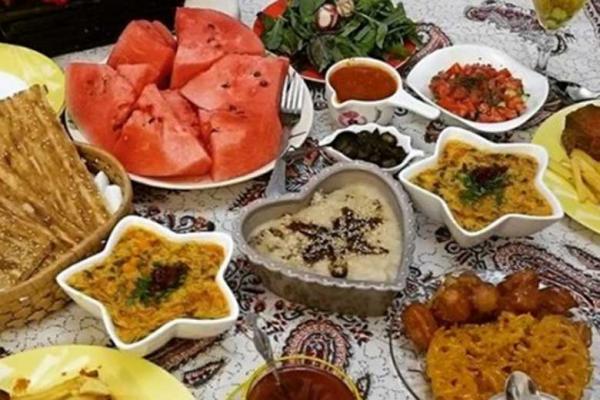 بخور، نخورهای سحر و افطار