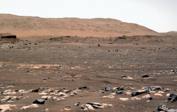 ناسا از پرواز بالگرد نبوغ در مریخ جزئیات بیشتری ارائه کرد