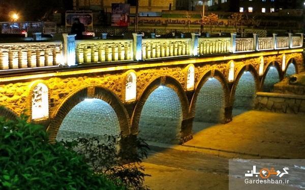پل آجی چای تبریز ؛ از تاریخی ترین و قدیمی ترین پل های کشور، عکس