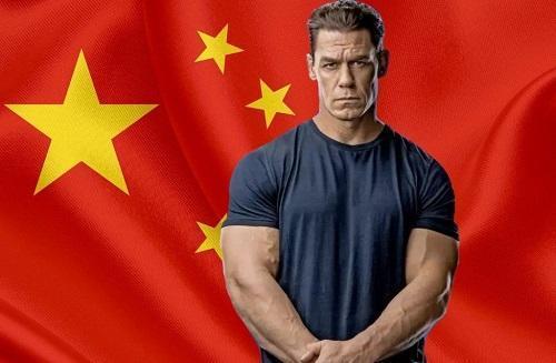 عذرخواهی جان سینا از چینی ها
