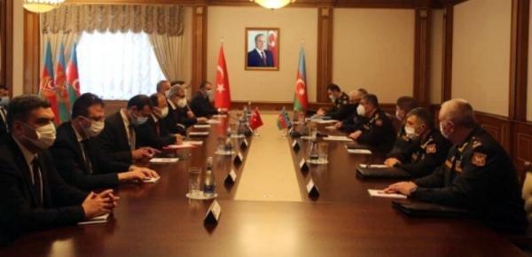 باکو و آنکارا همکاری های نظامی و فنی را بررسی کردند