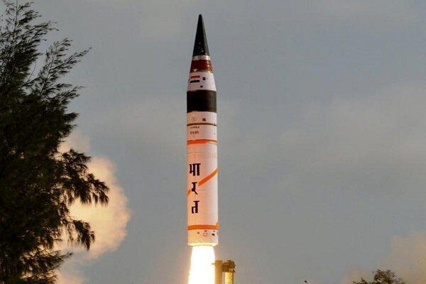 آزمایش موفقیت آمیز موشک تازه بالستیک هند