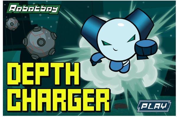 بازی Robot Boy Depth Charger