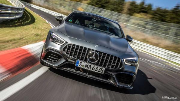 مرسدس بنز؛ رکورددار خودروهای دودر و چهاردر نوربرگ رینگ