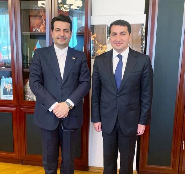 ملاقات سفیر جمهوری اسلامی ایران با دستیار رئیس جمهور آذربایجان