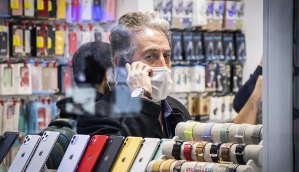 فراوری موبایل ایرانی کاهش یافت ، موبایل ایرانی هم قیمت وارداتی ها!